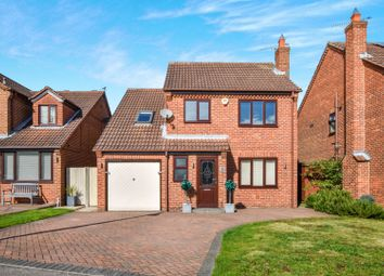 Thumbnail 4 bed detached house for sale in Plumpton Gardens, Doncaster