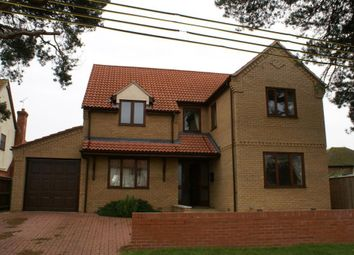 Thumbnail 4 bed detached house to rent in Wingfield Road, Lakenheath