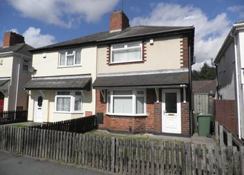 Thumbnail 2 bed semi-detached house to rent in Castlecroft Road, Bilston