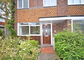 Thumbnail 3 bed end terrace house to rent in Carston Close, London