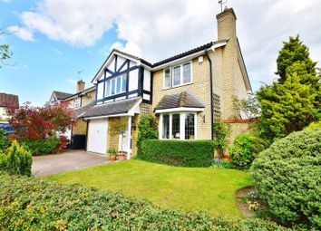 Thumbnail 4 bed detached house for sale in Dukes Ride, Bishop's Stortford