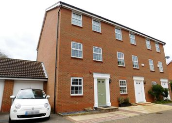 Thumbnail 4 bed town house to rent in Glossop Way, Arlesey, Beds
