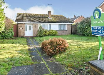 Thumbnail 2 bed bungalow for sale in Furlong Close, Alrewas, Burton-On-Trent, Staffordshire
