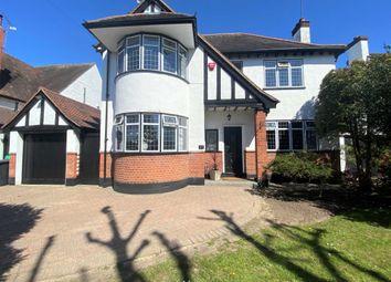 Thumbnail 4 bed detached house for sale in Balgores Lane, Gidea Park.
