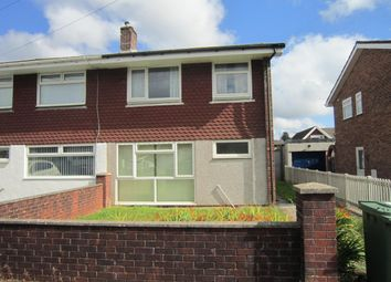 Thumbnail 3 bed semi-detached house for sale in Wallis Drive, Penpedairheol