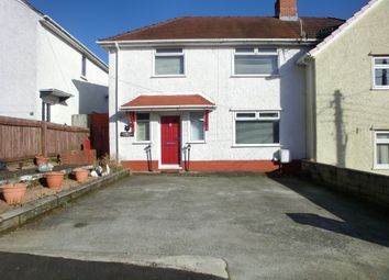 Thumbnail 2 bed semi-detached house for sale in Brynamlwg, Clydach, Swansea