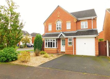 Thumbnail 4 bed detached house for sale in Jupiter Way, Meadowcroft Park, Stafford