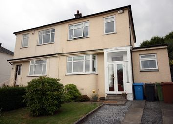 Thumbnail 3 bed semi-detached house for sale in 145 Orchard Park Avenue, Giffnock
