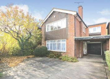Thumbnail 4 bed detached house for sale in Langdale Road, Bramhall, Cheshire