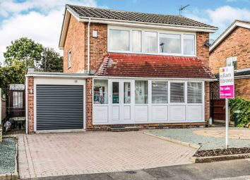 Thumbnail 3 bedroom detached house for sale in Carisbrook Road, Carlton-In-Lindrick, Worksop