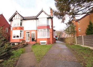 Thumbnail 3 bed semi-detached house for sale in Old Hall Road, Sale, Cheshire
