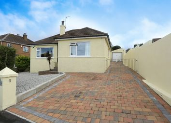 Thumbnail 3 bed detached bungalow for sale in Therlow Road, Plymouth