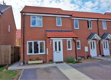 Thumbnail 3 bed end terrace house for sale in Cupola Close, North Hykeham, Lincoln