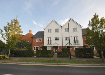 Thumbnail 4 bed town house to rent in Violet Way, Kingsnorth, Ashford, Kent