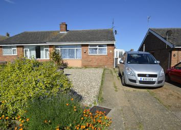 Thumbnail 2 bedroom detached bungalow for sale in Dovedale, Felixstowe
