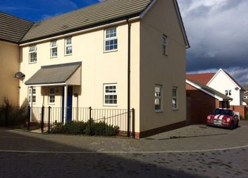 Thumbnail 4 bed link-detached house for sale in Stanton, Bury St. Edmunds, Suffolk