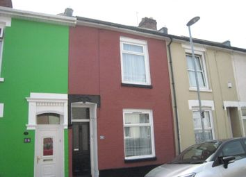 Thumbnail 3 bedroom terraced house to rent in Newcome Road, Fratton, Portsmouth