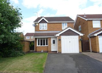 Thumbnail 3 bed detached house for sale in Coppice Close, Ravenstone, Leicestershire