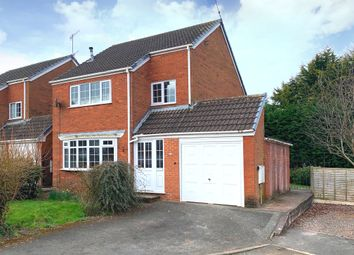 Thumbnail 3 bed detached house for sale in Usulwall Close, Eccleshall