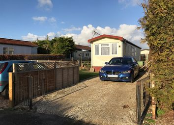 Thumbnail 2 bedroom mobile/park home for sale in Canons Drive, St. Johns Priory, Lechlade