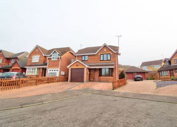 Thumbnail 3 bed detached house for sale in Wrekin Close, Northampton