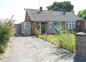 Thumbnail 2 bed semi-detached bungalow for sale in Tennyson Ave, Sydney, Crewe, Cheshire