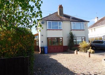 Thumbnail 3 bed flat for sale in Lulworth Crescent, Hamworthy, Poole