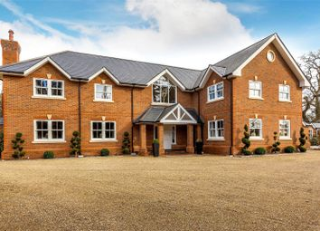 Thumbnail 6 bed detached house to rent in Station Road, Chobham, Woking, Surrey