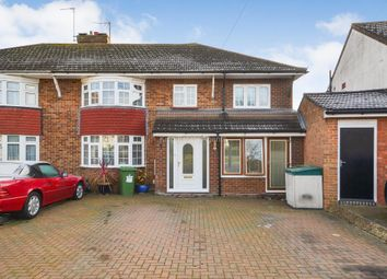 Thumbnail 5 bedroom semi-detached house for sale in St. Catherines Avenue, Bletchley, Bucks