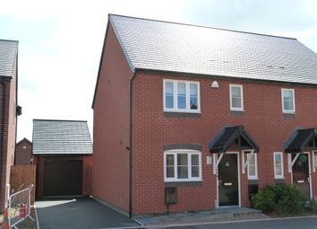 Thumbnail 3 bed semi-detached house to rent in Fox Lane, Green Street, Kempsey, Worcester