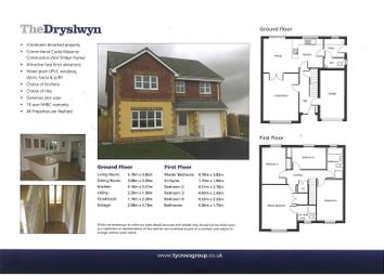 Thumbnail 4 bedroom detached house for sale in Parc Gwendraeth, Kidwelly, Carmarthenshire.