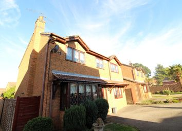 Thumbnail 4 bed detached house for sale in Lister Close, Corby