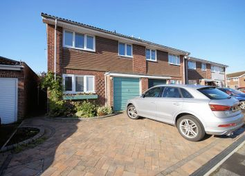 Thumbnail 3 bed semi-detached house for sale in York Gardens, Portchester, Fareham