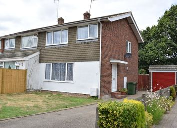 Thumbnail 3 bed semi-detached house to rent in Offens Drive, Staplehurst, Tonbridge