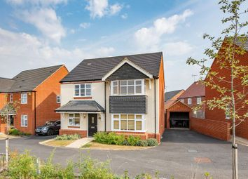 Thumbnail 4 bed detached house for sale in Dickens Lane, Bletchley, Milton Keynes