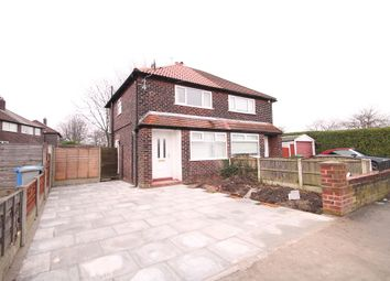 Thumbnail 2 bedroom semi-detached house to rent in Newton Road, Altrincham