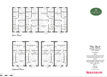 Thumbnail 3 bed semi-detached house for sale in Llys Buckler, Penymynydd
