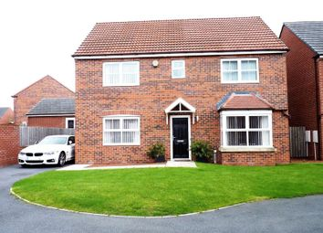 Thumbnail 4 bed detached house for sale in Bayfield, Shiremoor, Newcastle Upon Tyne