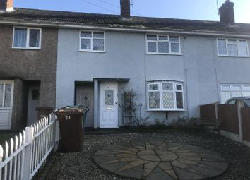Thumbnail 3 bedroom terraced house to rent in Hislop Road, Rugeley