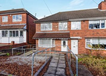 Thumbnail 3 bedroom end terrace house for sale in Longstone Road, Great Barr, Birmingham, West Midlands