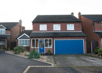 Thumbnail 4 bed detached house for sale in Walrand Close, Wigginton, Tamworth