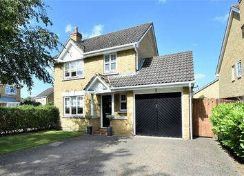 Thumbnail 3 bed detached house for sale in Picton Close, Camberley, Surrey