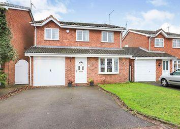 Thumbnail 4 bed detached house for sale in Raglan Avenue, Wolverhampton, West Midlands