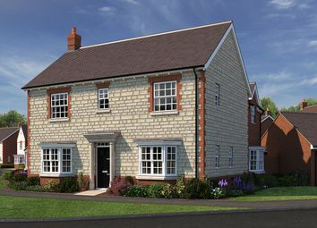 "Thumbnail 4 bed detached house for sale in ""The Spinney"" at The Ridge, Blunsdon, Swindon"