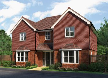 Thumbnail 4 bed detached house for sale in Burleigh Woods, Crawley Down, East Grinstead