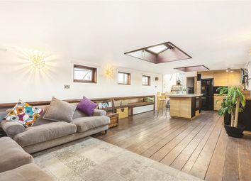 Thumbnail 3 bed houseboat for sale in Lombard Road, London