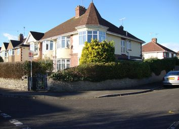 Thumbnail 4 bed semi-detached house for sale in Stanhope Road, Weston-Super-Mare