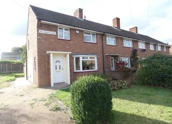 Thumbnail 3 bed end terrace house to rent in Galloway Close, Kempston, Bedford