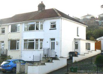 Thumbnail 3 bedroom semi-detached house to rent in Sherwell Valley Road, Chelston, Torquay