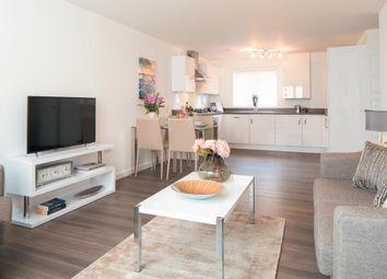 "Thumbnail 2 bed flat for sale in ""Harlington V2"" at Crick Road, Hillmorton, Rugby"